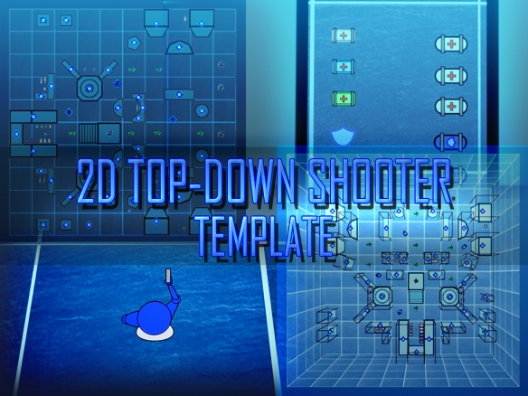 2D Top Down Shooter - Cover 2